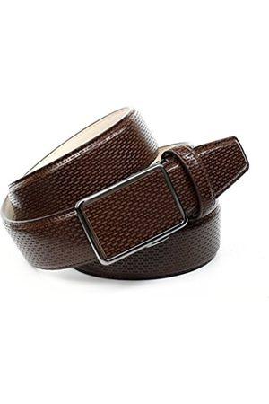 Anthoni Crown Men's's A37AM40 Belt (dunkelbraun 040) 115