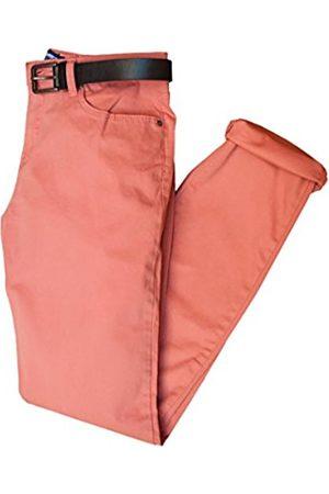 Men's Pantalón Caballero Slim 5 Bolsillos Trousers, Sangría (Sangría)