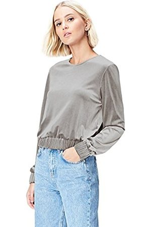 FIND Women's Long Sleeve Top in Velvet with Elastic Hem New Styles Online Outlet New Rihf3f4p