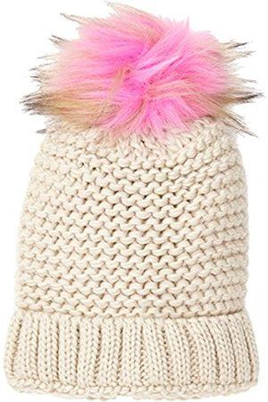 New Look Women's Coloured Faux Fur Pom Beanie