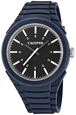Calypso Mens Analogue Classic Quartz Watch with Plastic Strap K5725/5