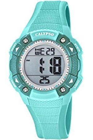 Calypso Unisex-Child Digital Quartz Watch with Plastic Strap K5728/4
