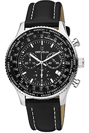 ORPHELIA Mens Chronograph Quartz Watch with Leather Strap OR81705