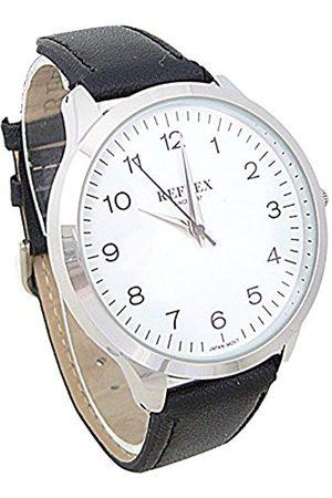 Reflex Mens Analogue Classic Quartz Watch with PU Strap REF0032