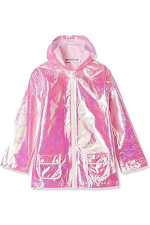 Girl's Iridescent Mac Jacket