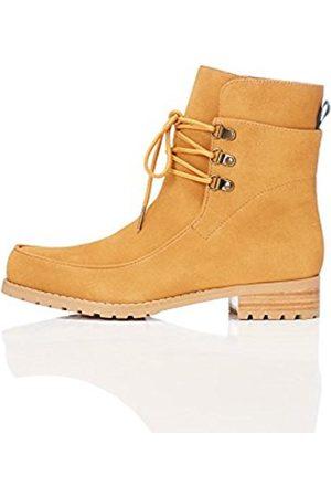 Women's Faux Suede Lace-Up Boots