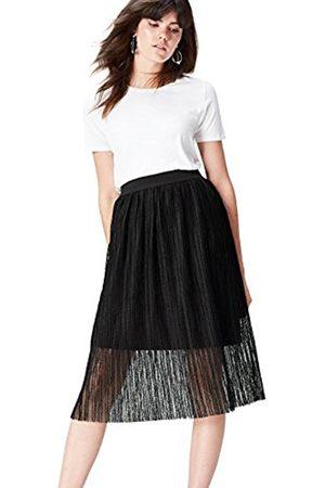 Women's Sheer Midi Skirt