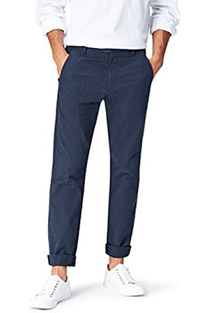 Men's Textured Slim Fit Formal Trousers