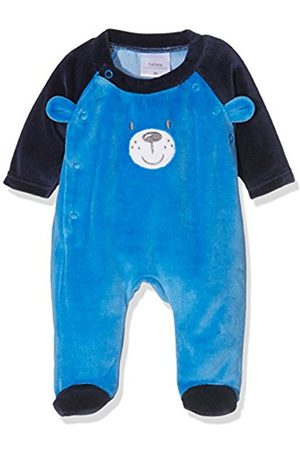 Twins Baby Boys Sleep & Playsuit Teddy Bear Multicoloured (mehrfarbig 3200) 4-5 Months (Manufacturer size: 62)