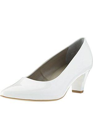 Womens Granada Closed Toe Heels, White, 4 UK Jenny