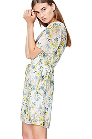Women's Floral Chiffon Tea Dress