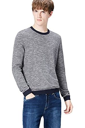 Men's Textured Knit Jumper
