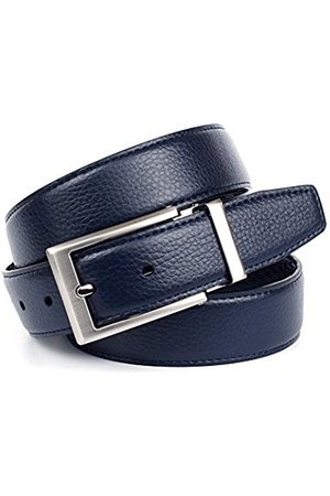 Anthoni Crown Men's A1QT88 Belt (Blau 080) 115