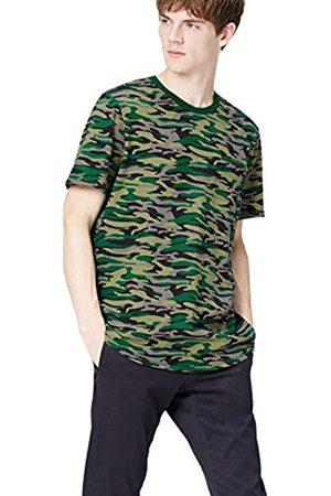 Men's Camo Zip Back T-Shirt