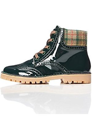 Boys' Vinyl Look Brogue Boots
