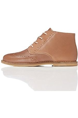 Unisex Kids' Classic Brogue Ankle Boots