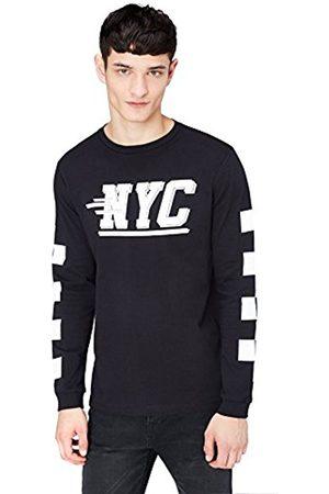Men's NYC Print Long Sleeve T-Shirt