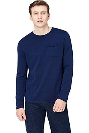 Men's Knitted Rolled Edge Jumper