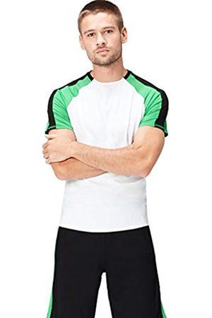 Men's Colour Block Sports T-Shirt