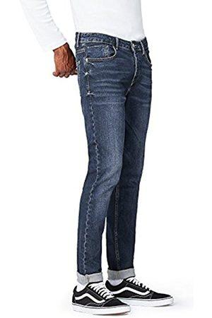FIND Men's Dark Wash Slim Jeans