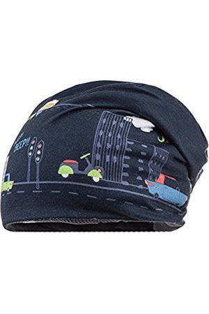 maximo Baby Boys' Beanie Traffic, Fleecefutter Hat