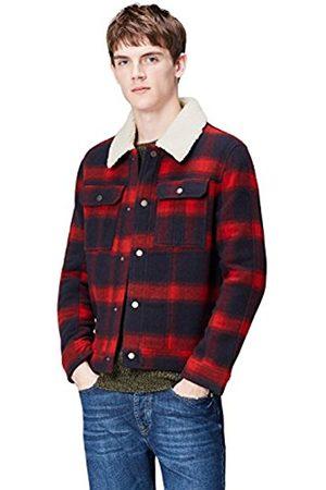 Men's Check Trucker Jacket