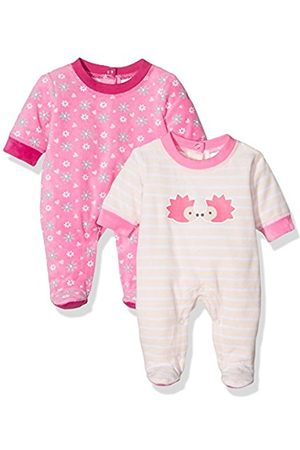 Twins Baby Girls Play & Sleepsuit Graphic, Multicoloured (mehrfarbig)