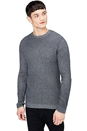 Men's Ribbed Knitted Jumper