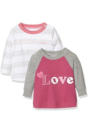 Twins Baby Girls Long Sleeve Tee (Pack of 2), Multicoloured (mehrfarbig)