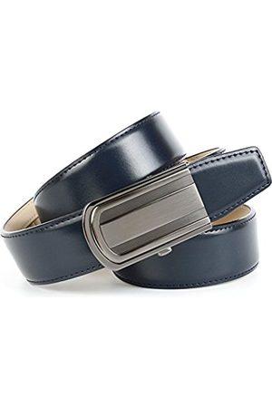 Anthoni Crown Men's's A2C080 Belt (Blau 010) 110