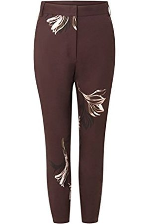 Coster Copenhagen Women's 7/8 Pants W. Blossom Print Trousers