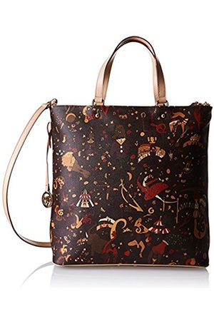 Womens Cross-Body Bag Brown dark brown (di moro) Piero Guidi 337co2zU