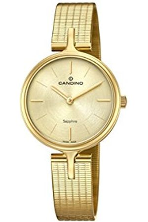 Candino Womens Analogue Classic Quartz Watch with Stainless Steel Strap C4644/1