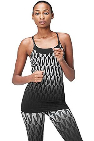 Women's Seamfree Geo Patterned Sports Tank Top