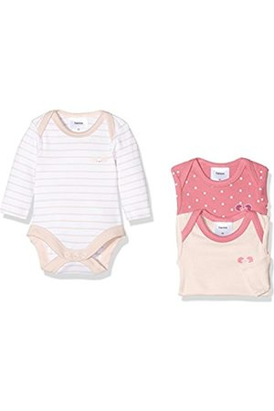 Twins Baby Girls Bodysuit (Pack of 3), (rosa)