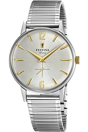 Festina Mens Analogue Classic Quartz Watch with Stainless Steel Strap F20250/2