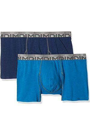 Dim Men's 3D Flex Morphotech Boxer X2 Hipsters, Bleu (Bleu Organique/Bleu Marin)