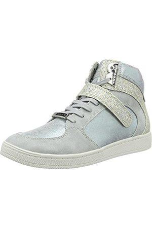 Womens 25216 Hi-Top Sneakers, White, 5 UK Tamaris