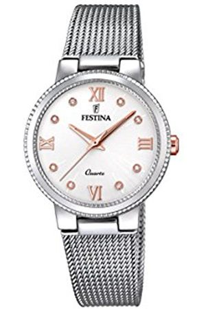 Festina Women's Analogue Quartz Watch with Stainless Steel Strap F16965/4