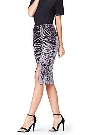 Women's Velvet Ruched Skirt