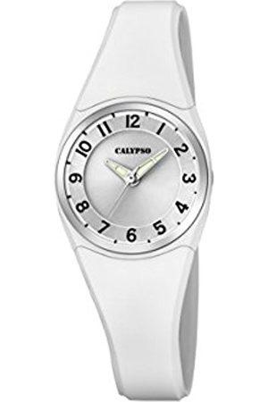 Calypso Womens Analogue Quartz Watch with Silicone Strap K5726/1