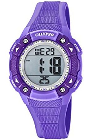 Calypso Unisex-Child Digital Quartz Watch with Plastic Strap K5728/5