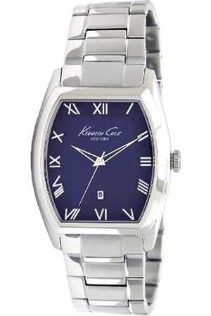 Kenneth Cole Men's Quartz Watch with Dial Analogue Display and Stainless Steel Bracelet KC9049