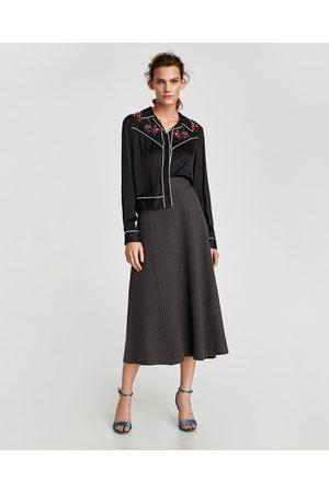 657cd7ed2e Zara winter women's midi skirts, compare prices and buy online