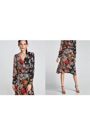 5a91819fb82 Zara kleid midi grun – Stylische Kleider für jeden tag