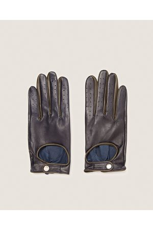 Zara LEATHER DRIVING GLOVES - Available in more colours