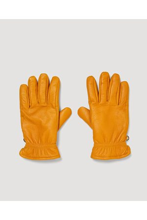 Zara LEATHER GLOVES WITH ELASTIC DETAIL - Available in more colours