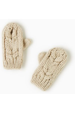 Zara CABLE-KNIT MITTENS - Available in more colours