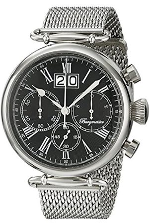Burgmeister BMP01-121 Toulouse, Gents Watch, Analogue Display, Chronograph with Citizen Movement - Water Resistant, Stylish Stainless Steel Bracelet