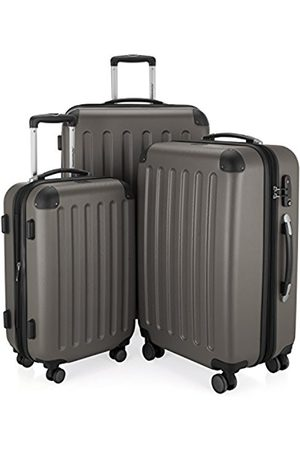Hauptstadtkoffer Spree - 3er Koffer-Set Trolley-Set Rollkoffer Reisekoffer, TSA, (S, M & L), Luggage Set, 75 cm, 259 liters